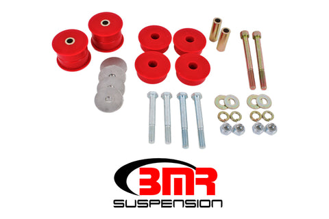 BMR 15-17 S550 Mustang Differential Bushing Kit (Polyurethane) - Red