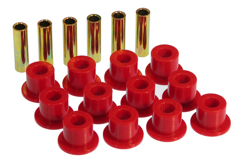 Prothane 72-81 International Scout II Spring & Shackle Bushings - Red