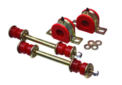 Energy Suspension 99-06 Chevrolet Silverado Red 28mm Front Sway Bar Bushings