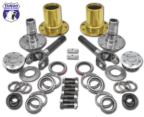 Yukon Gear Spin Free Locking Hub Conversion Kit For Dana 60 & Aam / 00-08 SRW Dodge