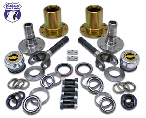 Yukon Gear Spin Free Locking Hub Conv Kit For Dana 30 & Dana 44 TJ / XJ / YJ / 27 Spline / 5 X 4.5in