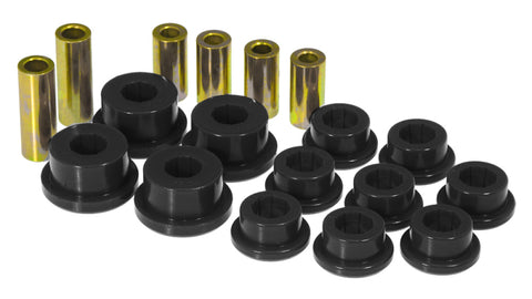 Prothane 95-99 Mitsubishi Eclipse Front Upper/Lower Control Arm Bushings - Black