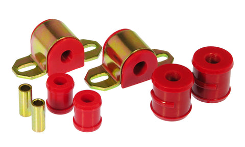Prothane 67-81 Chevy Camaro/Firebird Rear Sway Bar Bushings - 5/8in 1-Bolt - Red