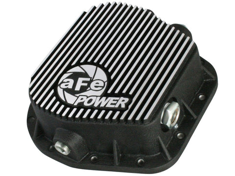 aFe Power Rear Differential Cover (Machined) 12 Bolt 9.75in 11-13 Ford F-150 EcoBoost V6 3.5L (TT)