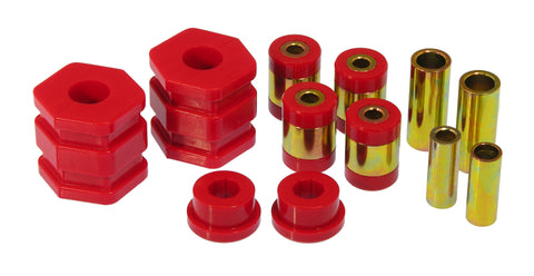 Prothane 96-00 Honda Civic Front Upper/Lower Control Arm Bushings - Red