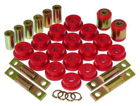 Prothane 01-02 Honda Civic Rear Control Arm Bushings - Red