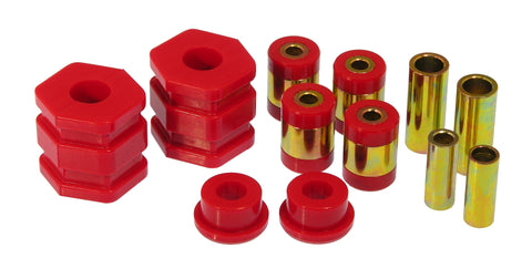 Prothane 99-00 Honda Civic Front Control Arm Bushings - Red