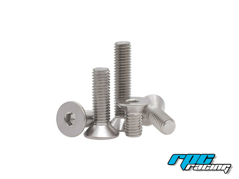 M3X8 Countersunk Stainless Steel Screws (20pcs)