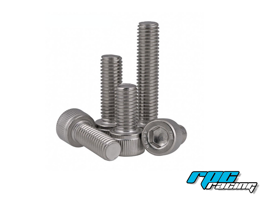 M3X10 Cap Head Stainless Steel Screws (20pcs)