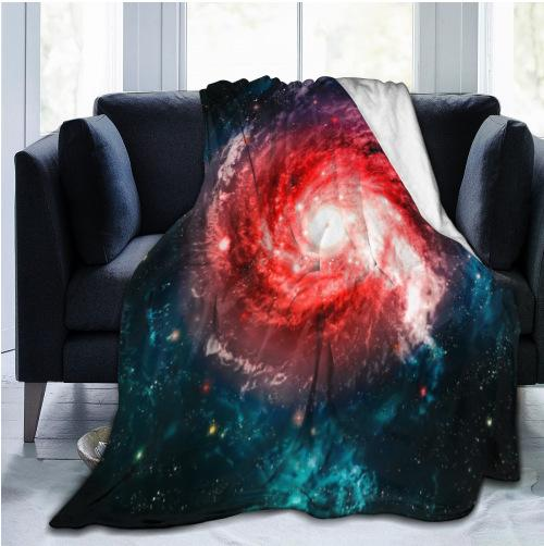 Galaxy Starry throw Blankets
