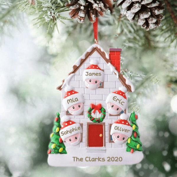 2020 Family Commemorative Christmas Tree Ornament