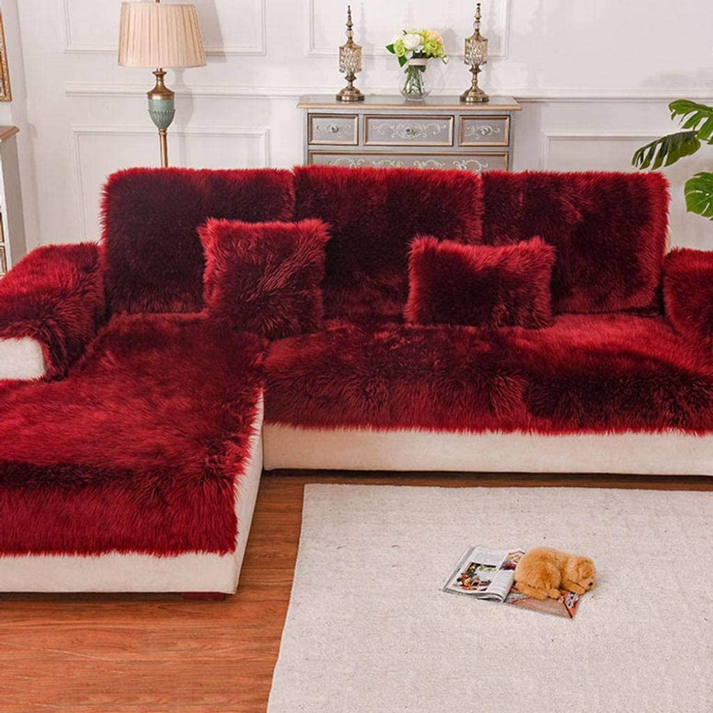 Faux Fur Sofa Cover