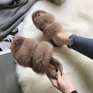 Fluffy Indoor Slippers