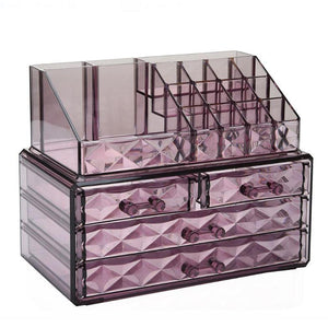 Transparent Cosmetic Storage Box