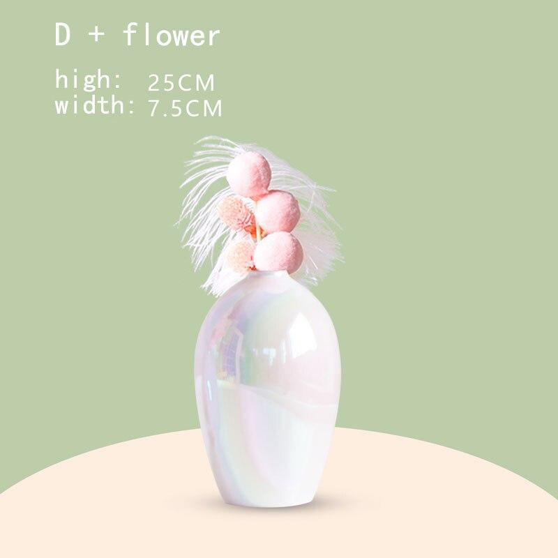 Luxury Pearl Flower Vase