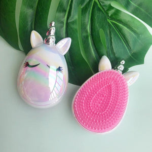 Unicorn Hair Massage Comb