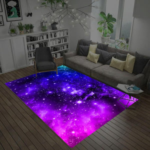 3D Dream Universe Galaxy Space Carpet