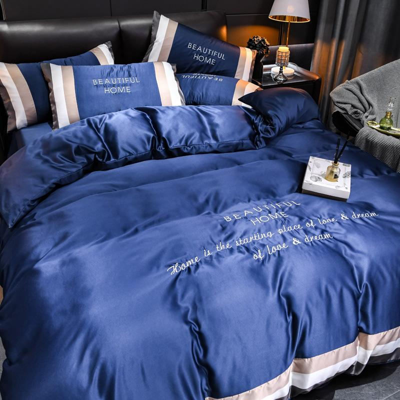 Beautiful Home Silk Bedding Set