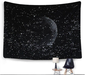 Galaxy Space Tapestry Wall