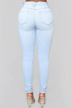 Load image into Gallery viewer, Fashion Skinny Baby Blue Jeans