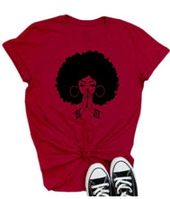 Load image into Gallery viewer, Shows Afro Printed Causal Tee