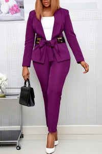 Fashion Commuter Professional Two-Piece Set