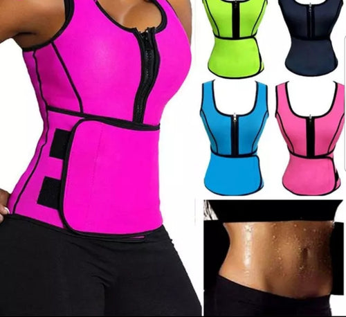 Shows Pink Get Snatched Waist Trainer with Vest