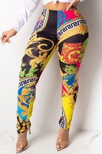 Load image into Gallery viewer, Fashion Casual Multicolor Print Bottoms