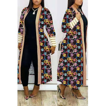Load image into Gallery viewer, Fashion Casual Printed Long Coat