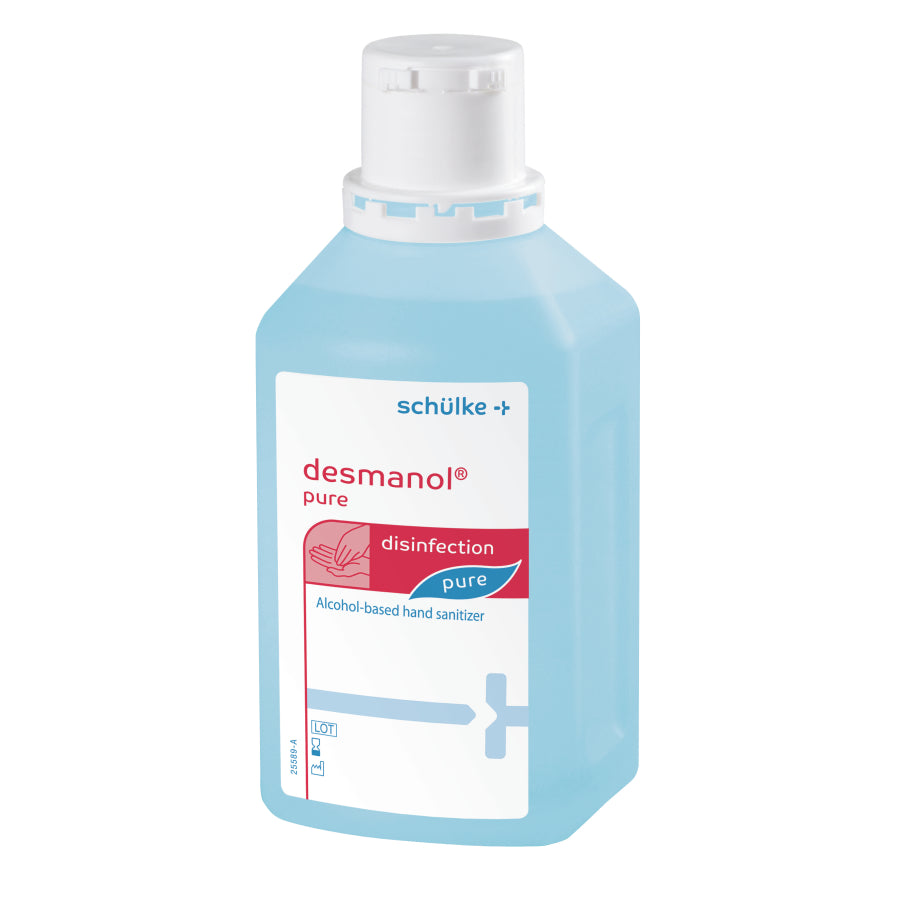 Händedesinfektion 500ml desmanol® pure (15,90€/l)