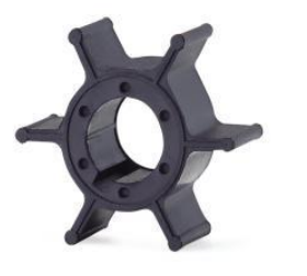 Yamaha Seawater Impeller 662-44352-01 Replacement