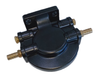 Aluminium Water Separator Bracket Top Housing With Brass Fittings