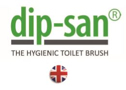 Dip-San® - The Hygienic Toilet Brush