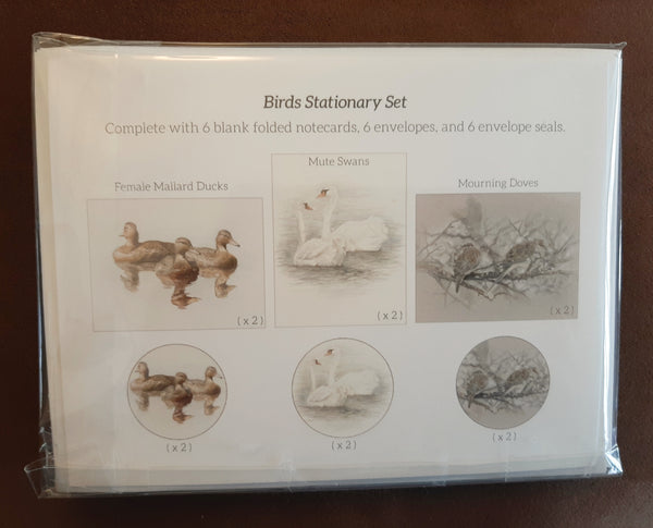 Bird Stationary Set