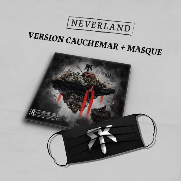 PACK CD Dédicacé Version Cauchemar + Masque + Titre Bonus | Neverland