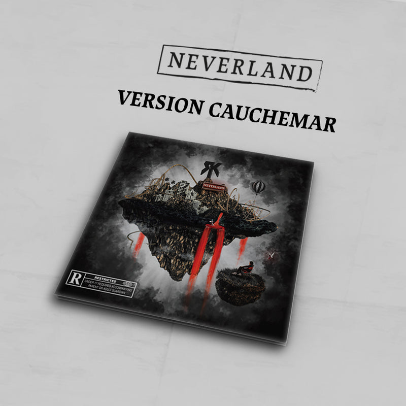 CD Dédicacé Version Cauchemar + Titre Bonus | Neverland