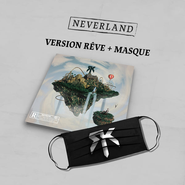 PACK CD Dédicacé Version Rêve + Masque + Titre Bonus | Neverland