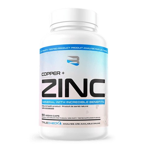 Believe Supplements Copper & Zinc 90 vcaps