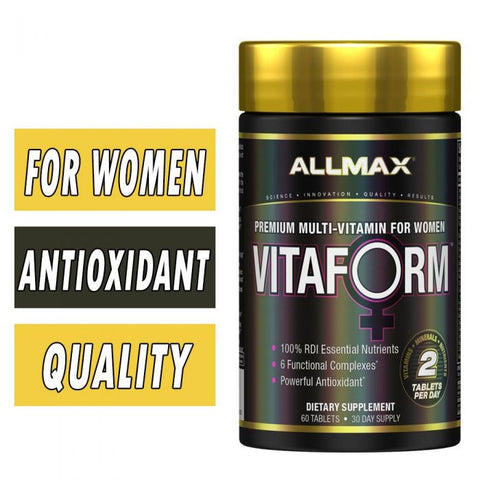 Allmax - VitaForm -Multi - Women - 60ct