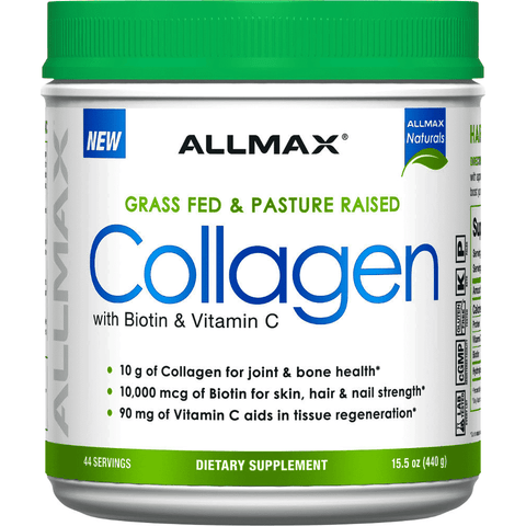 Allmax Collagen + Biotin 440g