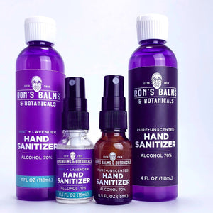 Hand Sanitizer, in response to coronavirus we have added our brand of hand Sanitizer. Stay safe!
