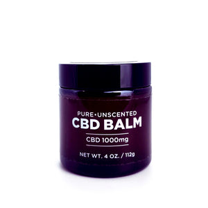 Open image in slideshow, Pure Unscented CBD Balm