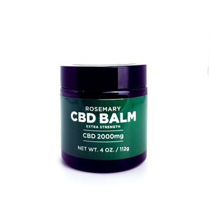 Open image in slideshow, Extra Strength Rosemary CBD Balm