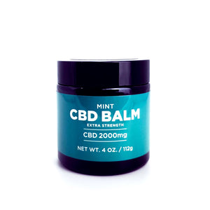 Open image in slideshow, Extra Strength Mint CBD Balm