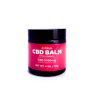 Open image in slideshow, Extra Strength Citrus CBD Balm