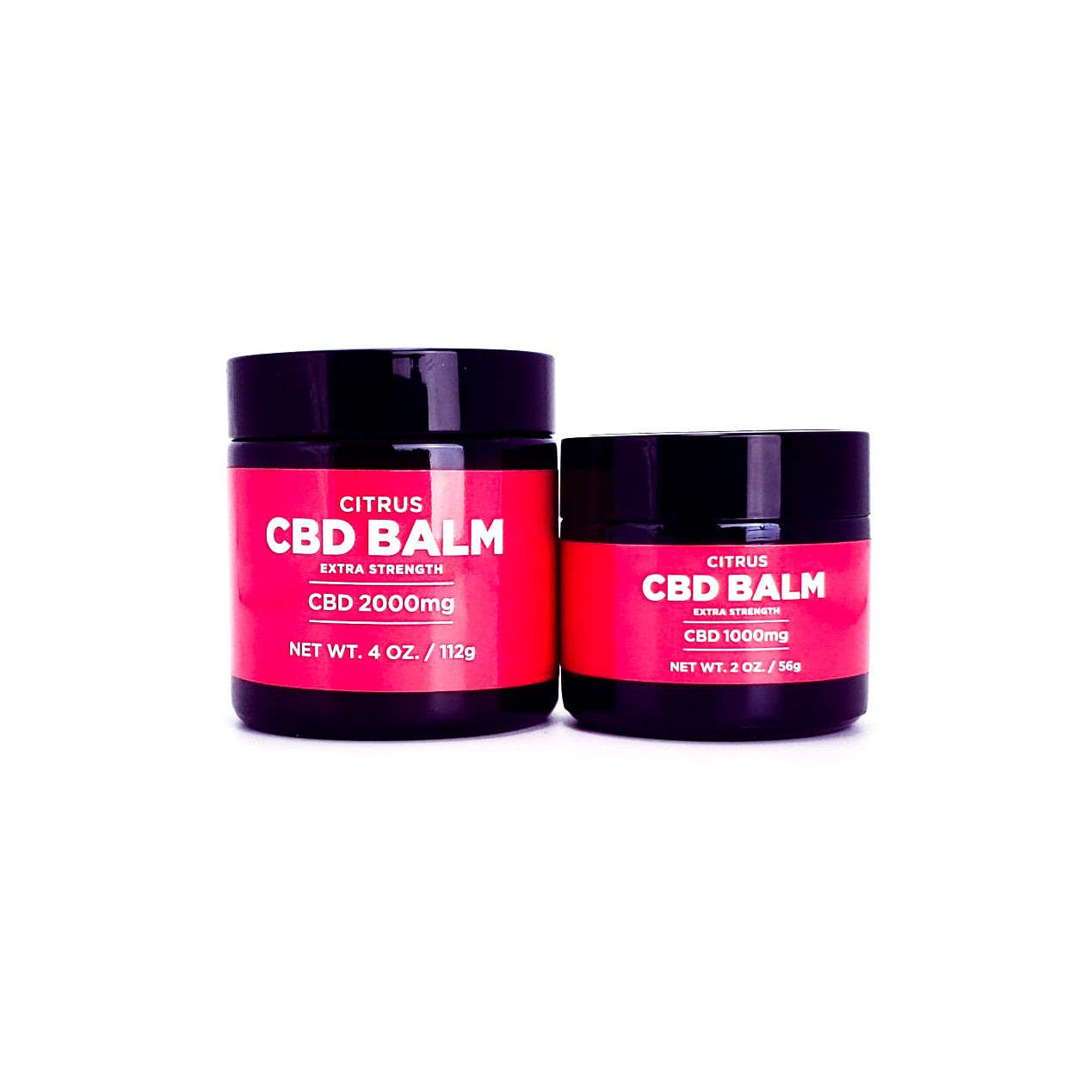 Extra Strength Citrus CBD Balm