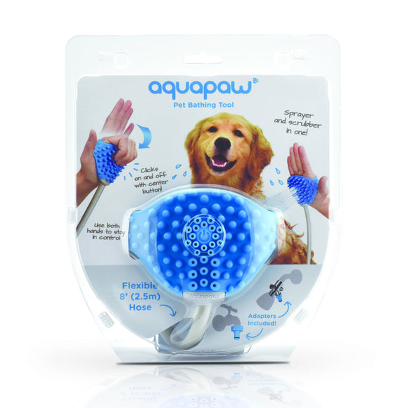 Pet Grooming Bath Brush | Aquapaw Pet Bathing Tool