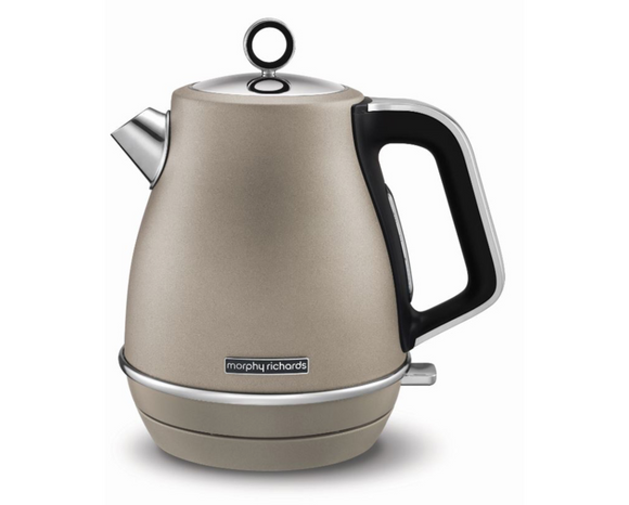 Morphy Richards Kettle 360 Degree Cordless Stainless Steel Platinum 1.5L 3000W