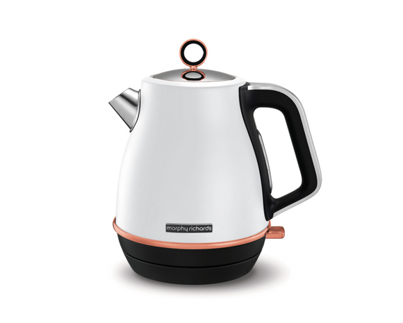 Morphy Richards Kettle 360 Degree Cordless Stainless Steel White 1.5L 3000W