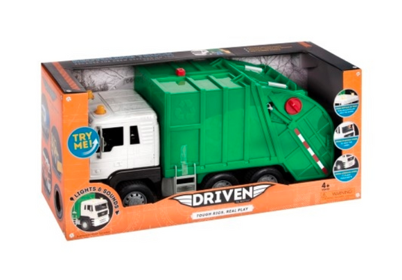 Kids Play Truck | Driven - Recycling Truck